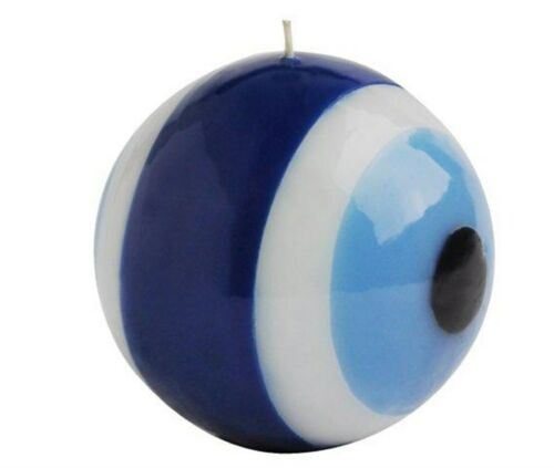 Evil Eye Candle 10 cm Two-Sided Turkish Amulet Talisman Nazar Charm Protector