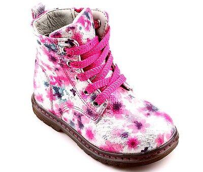 Mädchen Schnürschuhe Stiefel Freizeit Frühling Herbst Neu Weiß Mehrfarbig