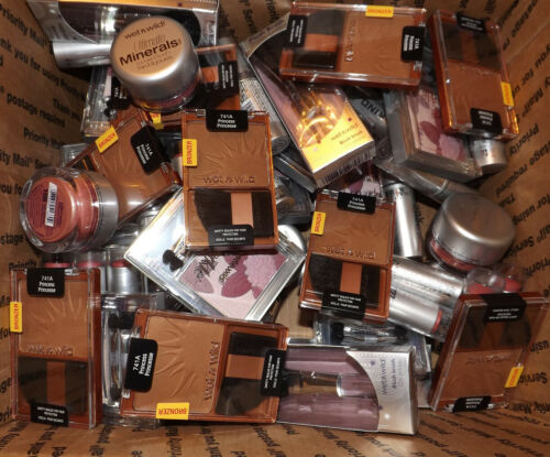 200 x Wet n Wild ASSORTED Makeup COSMETICS Wholesale Lot BLOWOUT $.62 each!