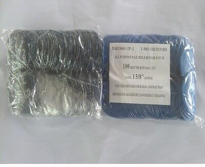 1000 pc Radial Repair Round Tire Patch High Quality Small 1-5/8(41mm