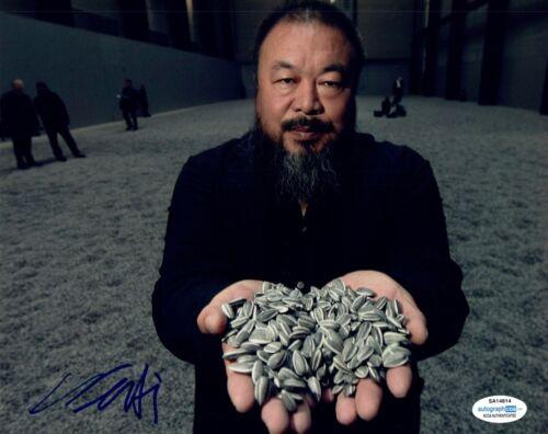 Ai Weiwei Signed Autographed 8x10 Photo Contemporary Artist ACOA COA