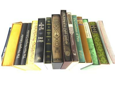 COLLECTION OF 15 FOLIO SOCIETY BOOKS PUBLICATIONS b
