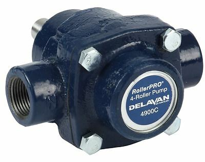 "4 Roller Pump - Delavan RollerPRO® 4900C 150 PSI 9.2 GPM. CI, CW, 5/8"""