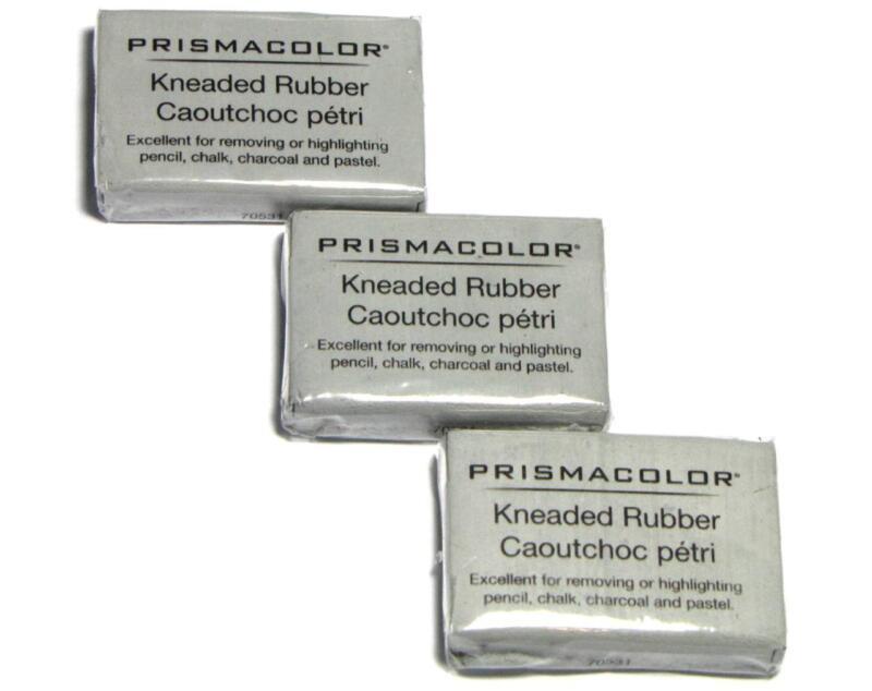 Prismacolor Kneaded Rubber Art Eraser - Pencil Pastel - Large - 3 PC 70531