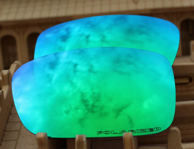 ACOMPATIBLE Polarized Lenses Replacement for-Oakley Crankcase - Green Mirror for sale  USA