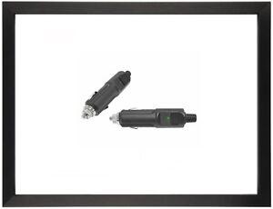 12v 24v auto zigarettenanz nder mit diode led stecker. Black Bedroom Furniture Sets. Home Design Ideas