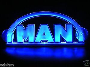 24v 3d Led Cabin Interior Light Plate For Man Truck Neon Illuminating Table Sign