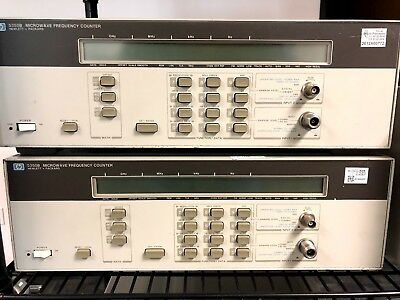 Hp 5350b Microwave Frequency Counter W Options 001 H03