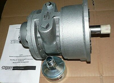Gast Air Motor Rotary Vane 8am-nrv-76