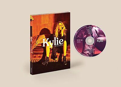 KYLIE MINOGUE GOLDEN DELUXE EDITION (CASEBOUND BOOK) Released April 6th 2018