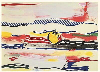 """Roy Lichtenstein """"Sunrise"""" 1984"""