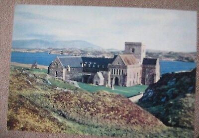 Abbey Church Iona c 1964 postcard
