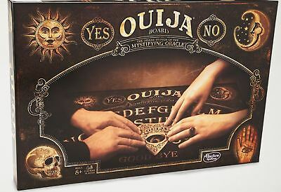 Wood Deluxe Toy - Hasbro Deluxe Ouija Board Game Edition -  Wood Planchette Halloween Toy NEW