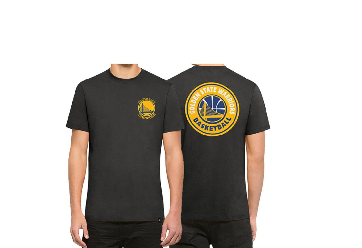 47 Brand Golden State Warriors Borderland T-Shirt