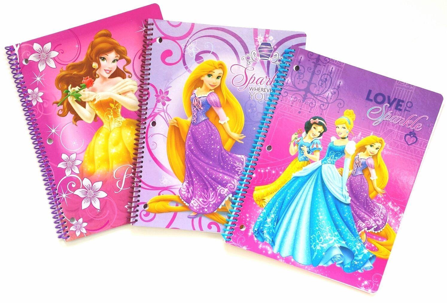 Disney Princess Spiral Notebooks