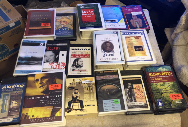 Audio Book Cassette Book Lot 15