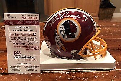 Kirk Cousins Autographed Riddell Washington Redskins Mini Helmet Witness JSA