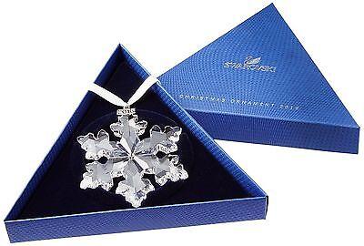 2016 SWAROVSKI CRYSTAL CHRISTMAS LARGE SNOWFLAKE ORNAMENT ANNUAL EDITION NEW!