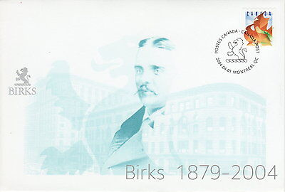 Canada  S59 Henry Birks And Sons 1879 2004 Special Event Cover