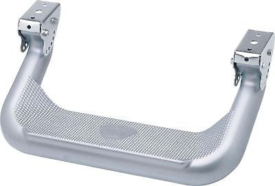 Carr 124504 Super Hoop Matte Titanium Silver Side Steps For Toyota Jeep Dodge