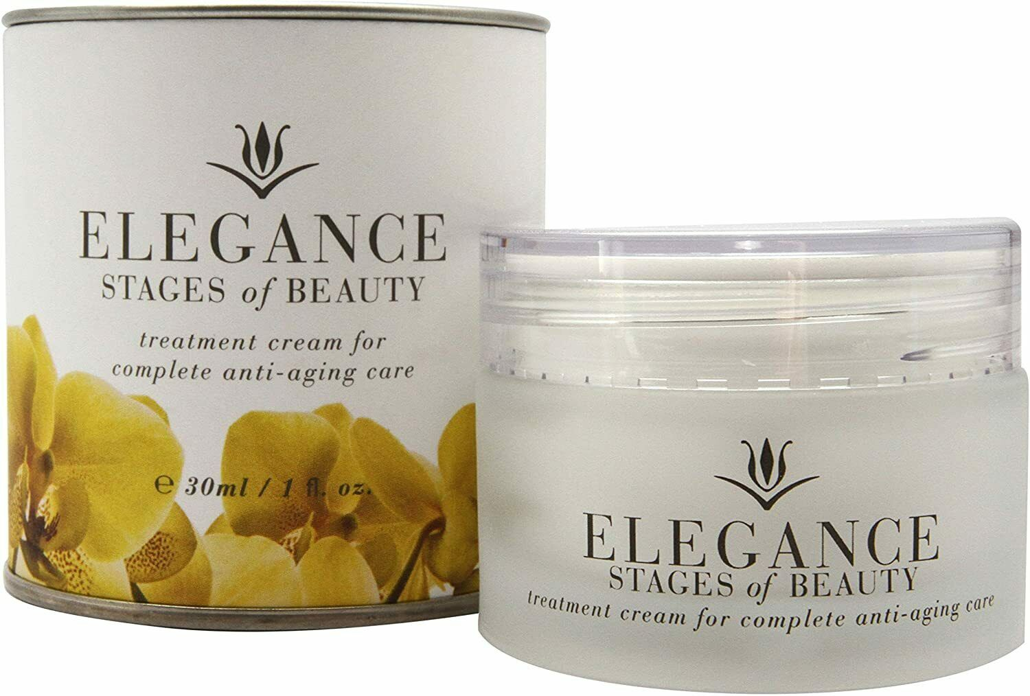 Stages of Beauty Elegance Treatment Cream w/ Resveratrol, Fight Wrinkles, 30mL