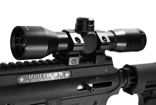 Trinity Tactical Scope For Alpha Black Elite tippmann tactical woodsball optics