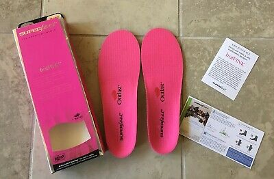 Superfeet Premium Cold Weather Insole Hot Pink Support Shock Ab Womens Skiing - Cold Weather Premium Insoles