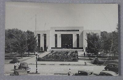 1950'S RPPC POSTCARD REPUBLIC COUNTY COURT HOUSE BELLEVILLE KANSAS