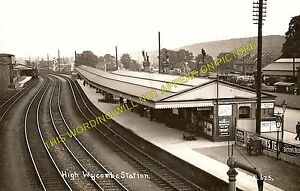 High Wycombe Railway Station Photo. West Wycombe to Loudwater and Beaconsfield