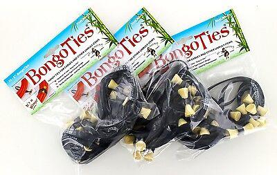 3 Pack of BongoTies® 30 Bongo Ties  A5-01