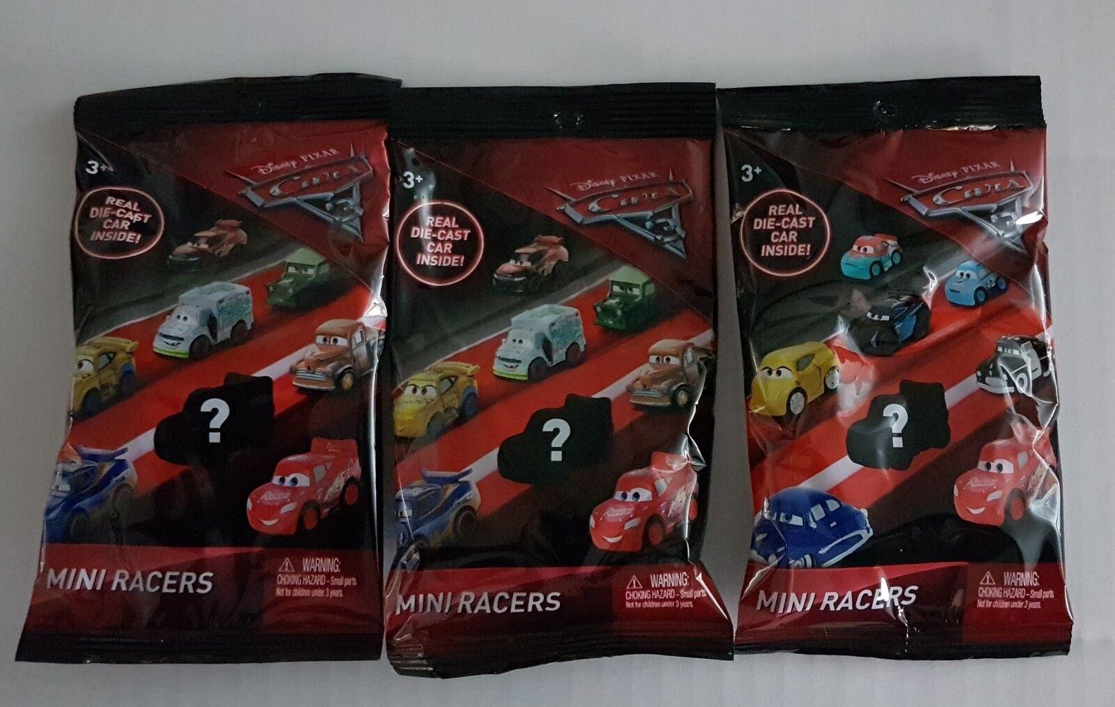 Mattel Disney Pixar Cars 3 MINI RACERS Die-Cast Cars - Near