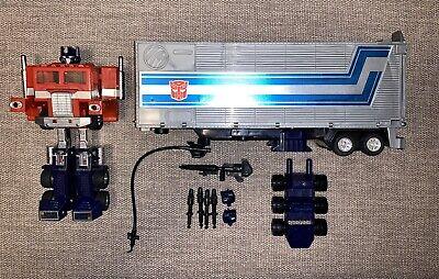 Transformers G1 Optimus Prime Vintage PLAIN T #2 complete