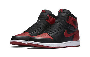 f5a5218c570 Nike Air Jordan 1 Retro High OG Banned Bred Black Red Shoes 555088 ...