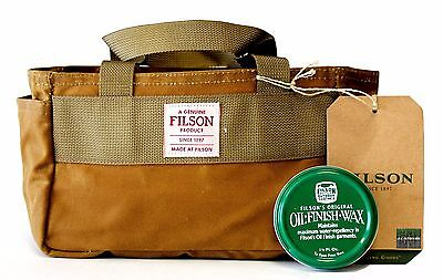 FILSON 11070113 Shotgun Shell Oil Finish Dark Tan Tote Bag