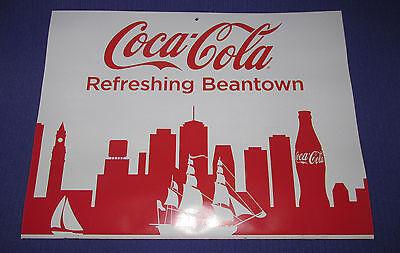 2016 Beantown Coca-Cola BOSTON RED SOX Baseball CALENDAR ORTIZ PEDROIA BIG PAPI