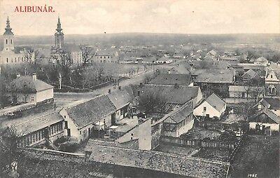 AK Alibunar Ortsansicht Strasse Häuser Serbien Postkarte 1915