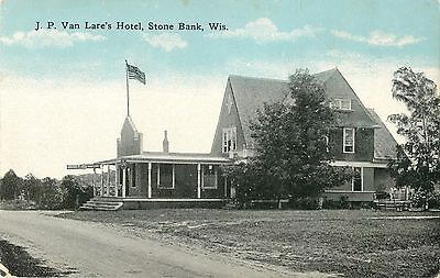 A View Of J P  Van Lares Hotel  Stone Bank  Wisconsin Wi