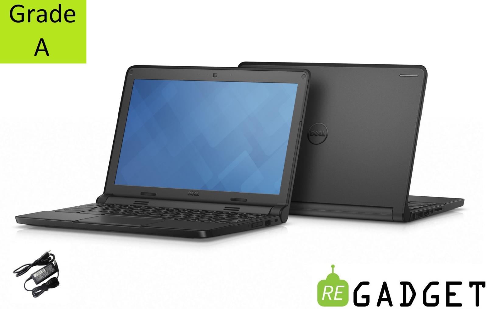 CHROMEBOOK Dell LAPTOP Notebook 4GB Intel 16GB ssd HDMI Webcam WiFi Chrome OS HD