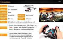Brand New Small RC Helicopter T31 with new-style controller Carindale Brisbane South East Preview