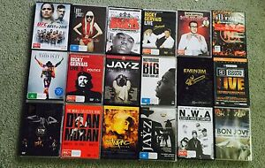 Bulk music and stand up DVDs Berwick Casey Area Preview
