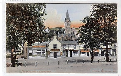 THE POST OFFICE, STRATHPEFFER: Ross-shire postcard (C19932)