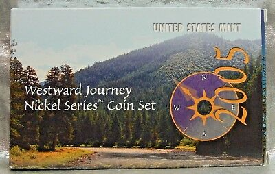 2005 WESTWARD JOURNEY NICKEL SERIES COIN SET WITH COA ()
