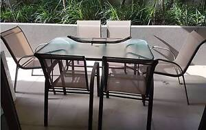 Outdoor Table and chairs St Leonards Willoughby Area Preview
