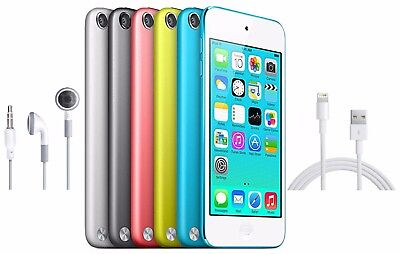 Apple iPod Touch 5th Generation 16GB 32GB 64GB Black White Blue Pink Yellow