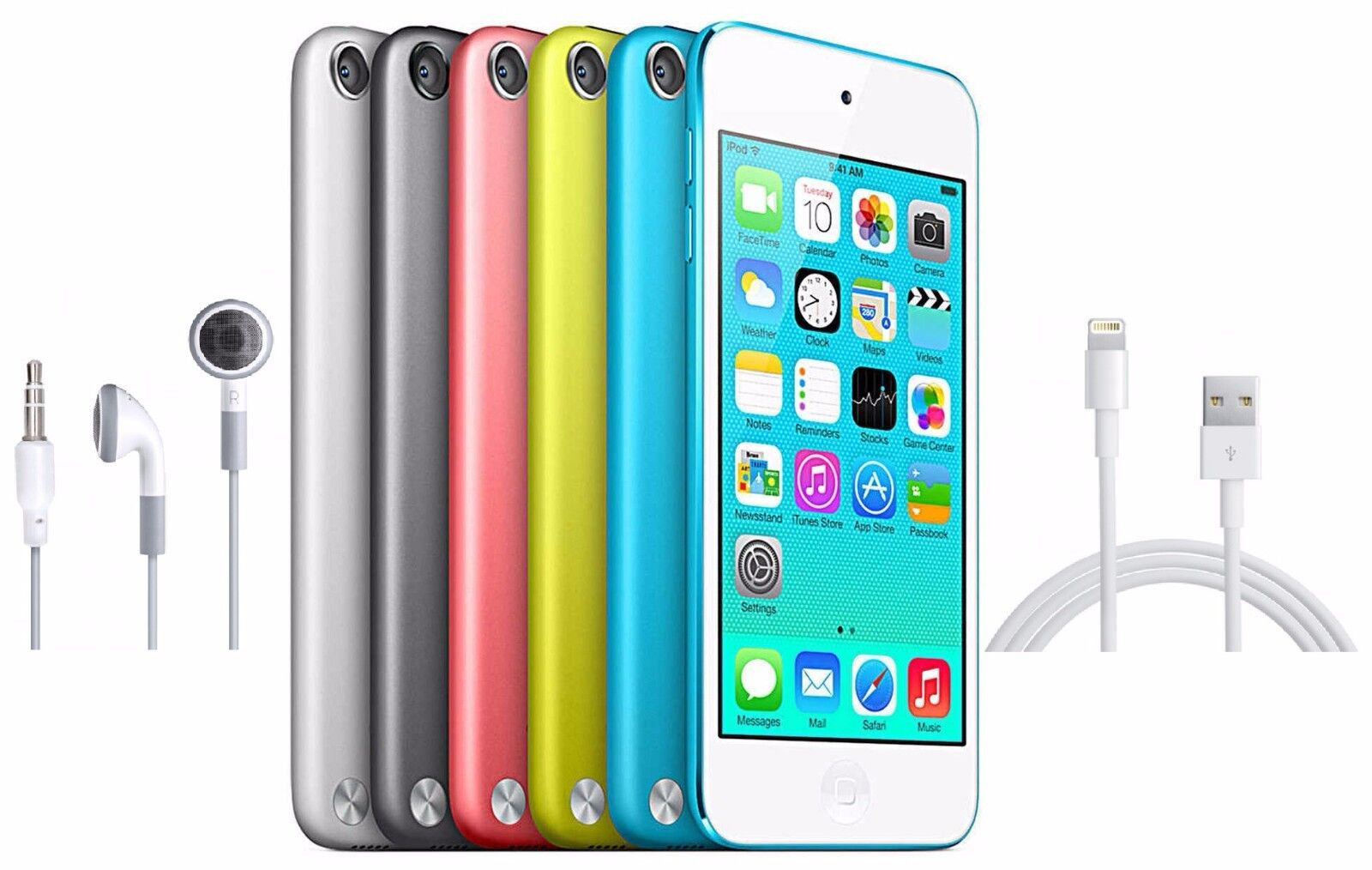 Ipod - Apple iPod Touch 5th Generation 16GB 32GB 64GB Black White Blue Pink Yellow