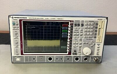 Rohde Schwarz Fsea20 Spectrum Analyzer 9 Khz - 3.5 Ghz Calibrated B4