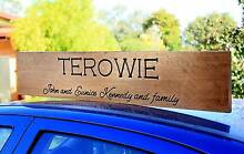 "★★ ""Family"" Personalised Sign ★★ Golden Grove Tea Tree Gully Area Preview"