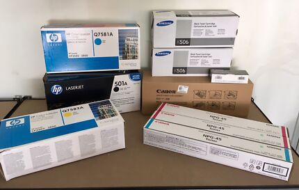 Bulk New Printer Cartridges and Accessories - HP Canon Samsung