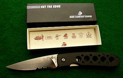 Old EDGE CO. KNIVES vintage BENCHMADE U.S.A. LEOPARD pocket -