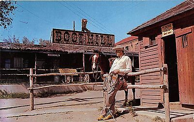 DODGE CITY KANSAS BOOT HILL~MATT DILLON GUARDS DESPARADOS IN JAIL POSTCARD 1960s